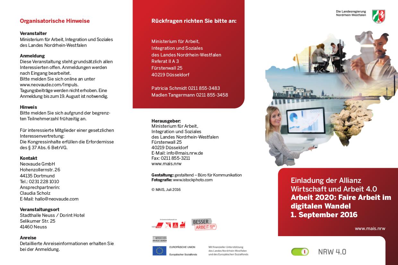 2016-07-19 2 MAIS Arbeit 2020 Einladung 01 September