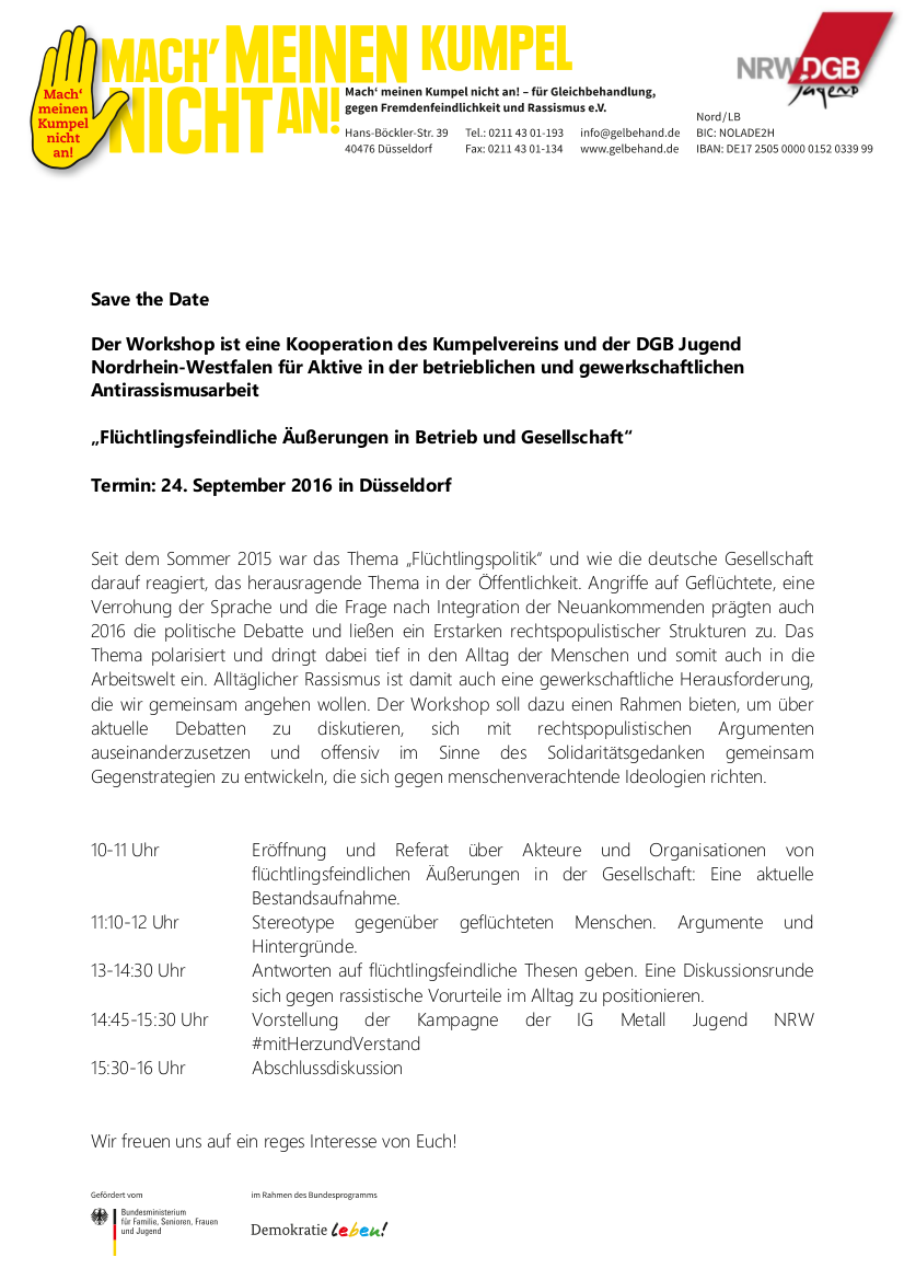 2016-07-22 Save the date_NRW 2016